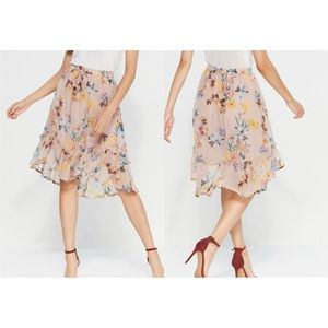 Band of Gypsies | NWT Pink Floral Skirt | Sz L